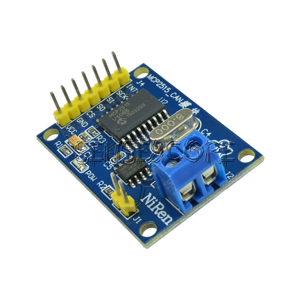 Cheap & simple MCP2551/MCP2515 CAN BUS set up - Page 2